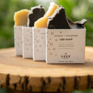 Nook + Crannies CBD Soap