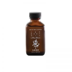Skin Balance CBD Body Oil in Orange Blossom