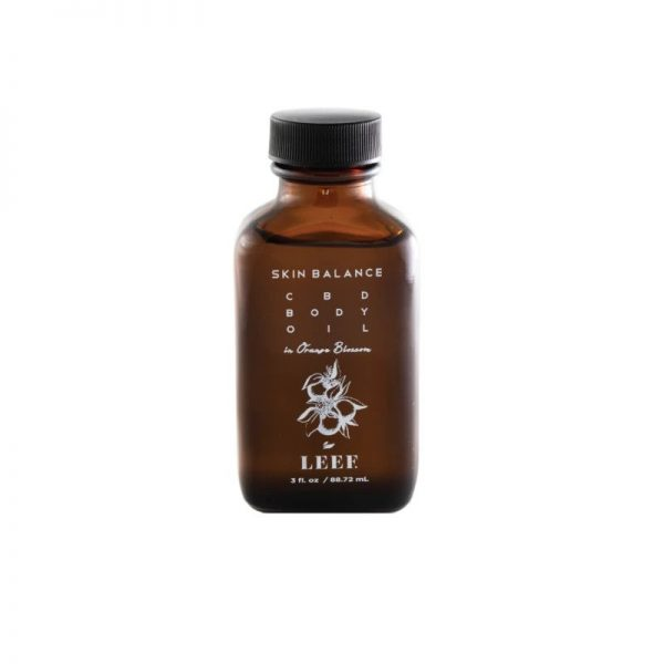 Skin Balance CBD Body Oil in Orange Blossom